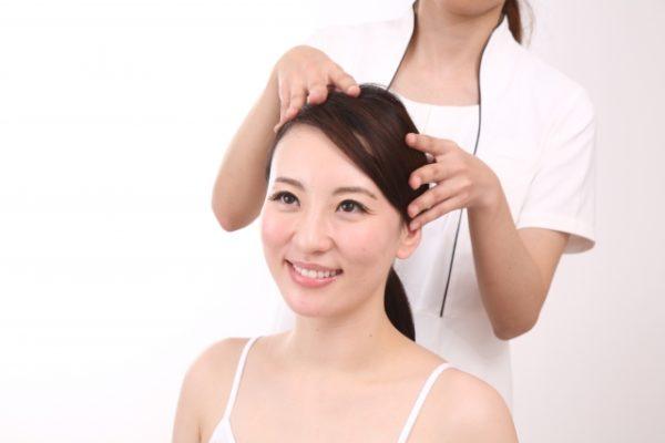 頭皮マッサージのやり方,方法