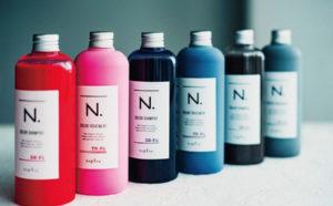 エヌドットカラーシャンプー,紫,シルバー,赤