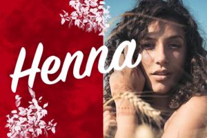 ヘナ,henna