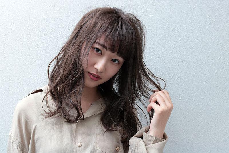 お団子×ハーフアップヘアアレンジベース
